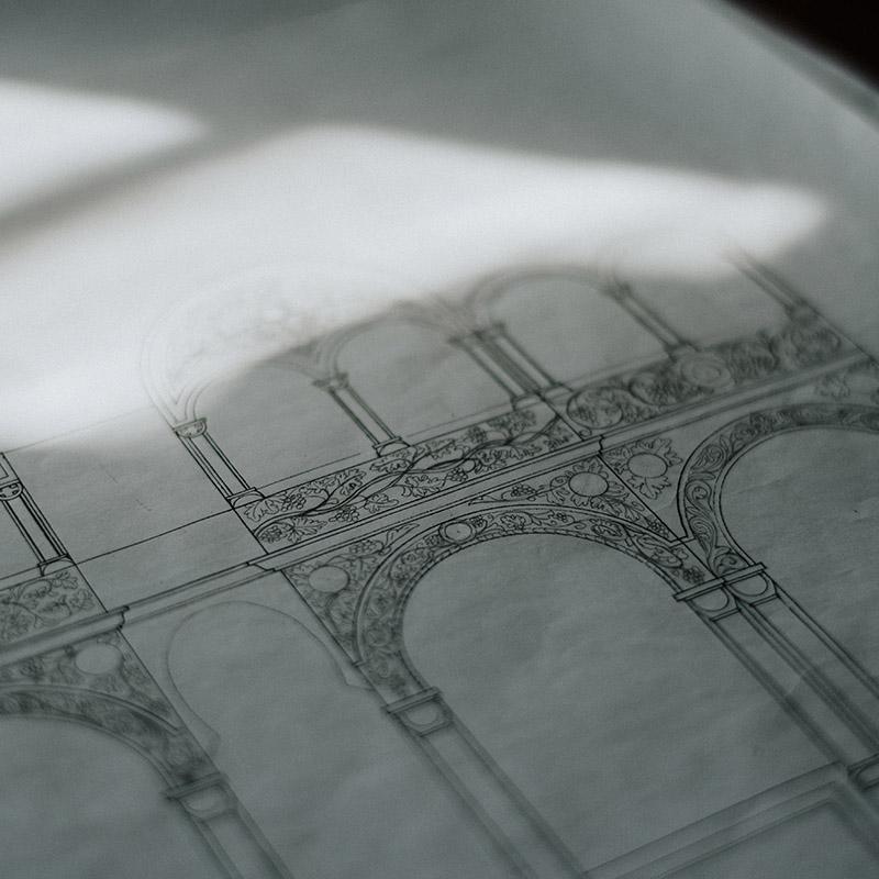Jeg elsker at arbejde med arkitekttegninger, og det var også en del af min uddannelse